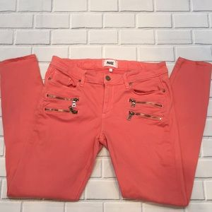 Paige Plus Size Zip Skinny Jean